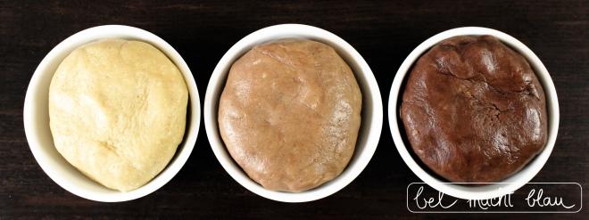 Dreierlei Häschenkekse - drei leckere Teigvarianten