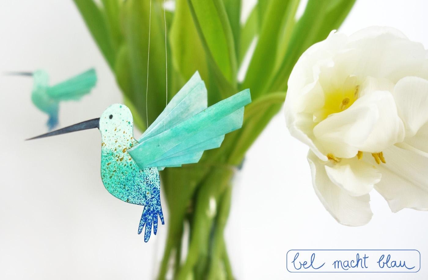 Der kleiner Kolibri weckt Frühlingsgefühle!