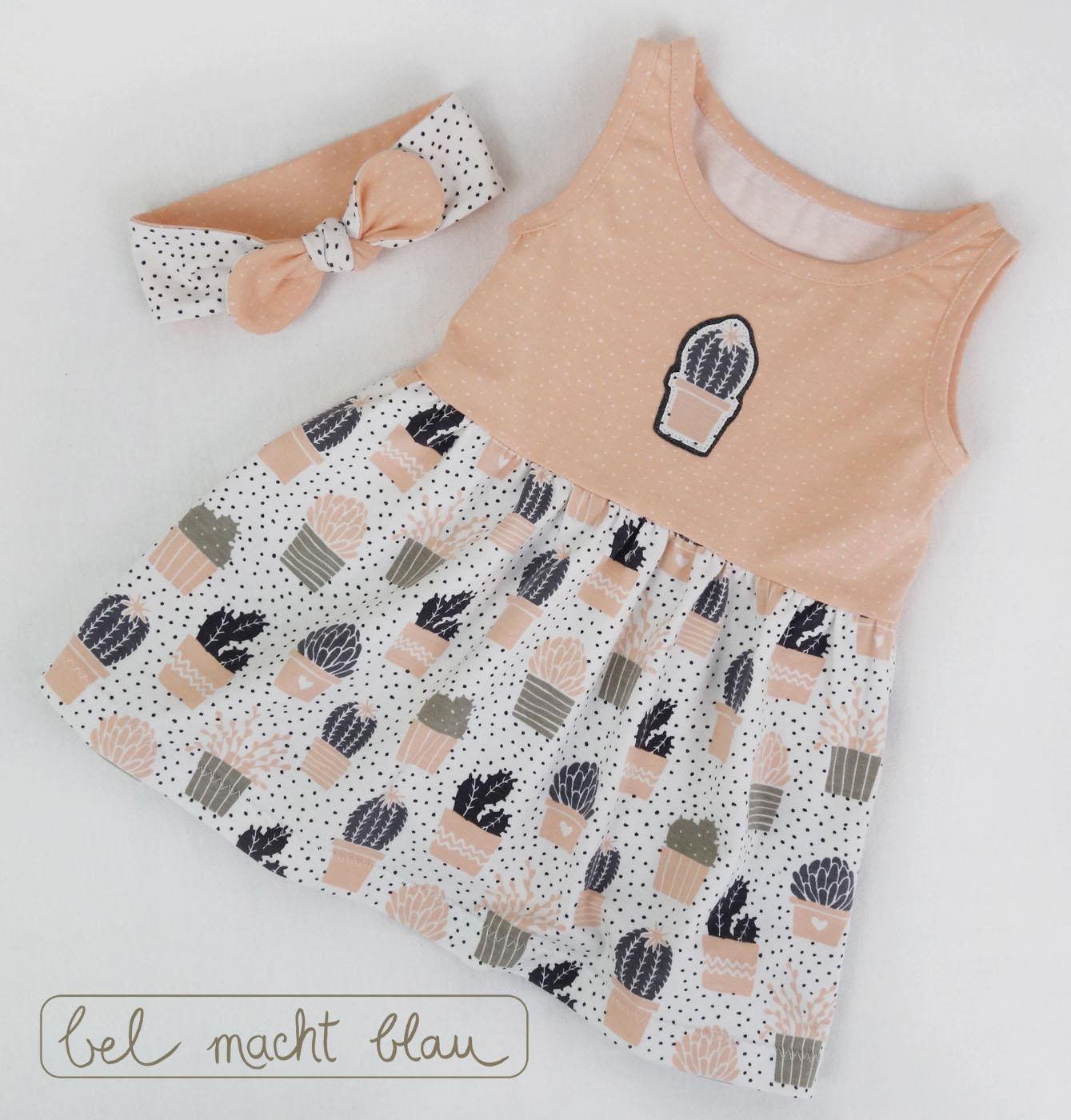 süßes Babykleid mit Haarband