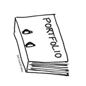 Portfolio-Ordner (Zeichnung)